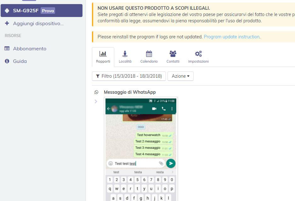 Calendario Condiviso Whatsapp.Spiare Conversazioni Whatsapp Su Android Cellulare Spia